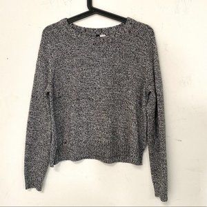 H&M Divided Knitted Marled Sweater